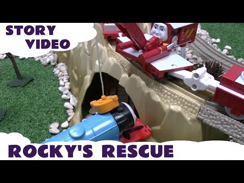 Story Episode Thomas & Friends Rocky Rescues Gordon Harold Flies Trackmaster Kids Toy Story