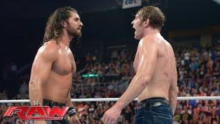 Dean Ambrose vs Seth Rollins  WWE Championship Mat
