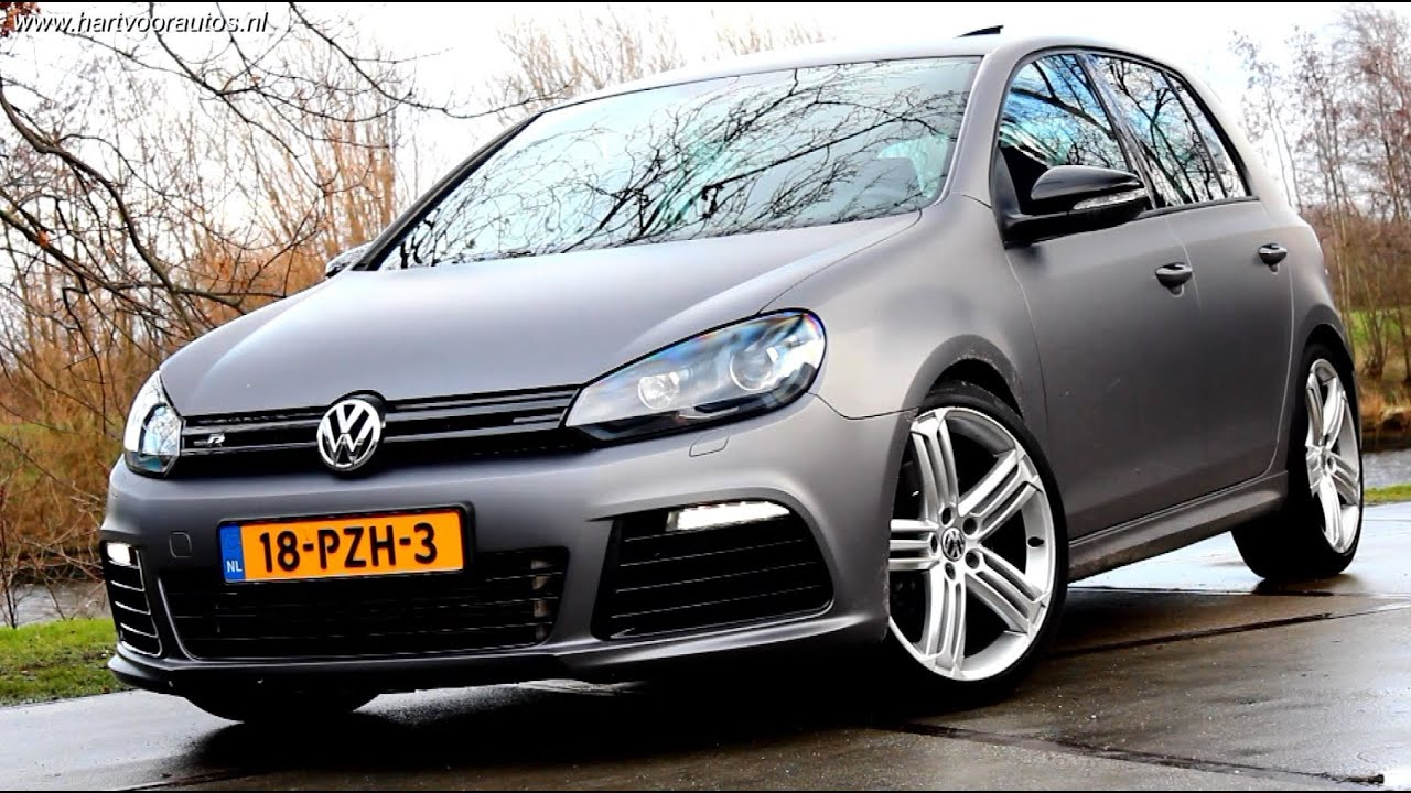 400HP Volkswagen Golf Mk6 R20 Review | www.hartvoorautos.nl | English Subtitled - YouTube
