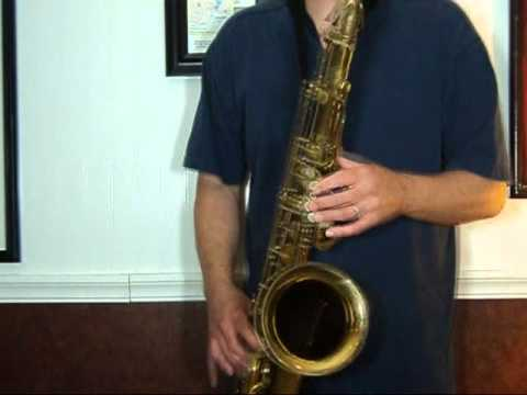 Selmer Mark VI Tenor Sax 144,xxx