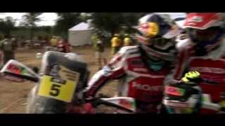 Dakar Rally 2015 Team HRC Stage 12