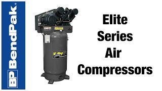 New Elite Air Compressors from BendPak