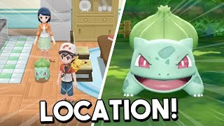 Where To Find Bulbasaur In Pokemon Let's Go Pikachu & Let's Go Eevee (All Locations)