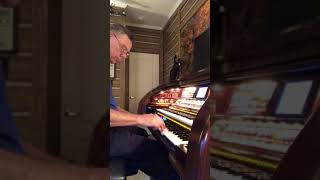 "Gary King plays ""Toot, Toot, Tootsie Goodbye"" on the Lowery Organ"