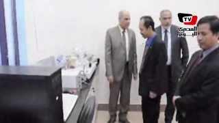 الوفد الثقافى لسفارة اندونيسيا يزور جامعة كفر الشيخ