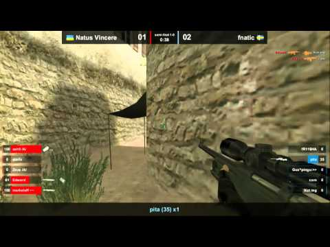 Navi vs Fnatic @ IEM SC Semifinal Map 2 Part 1