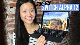 Back to School and Work w/ Acer Switch Alpha 12 | now&jenn