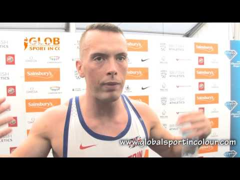 Richard Kilty Post Diamond League interview - Birmingham 2015
