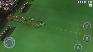 18th June [ Active Soccer 2 DX ] Tunisia vs England Fifa World Cup Mobile 2018 aNdroid IOS Gameplay