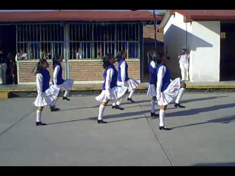ESCOLTA DE BANDERA DE LA SECUNDARIA TEC N° 29