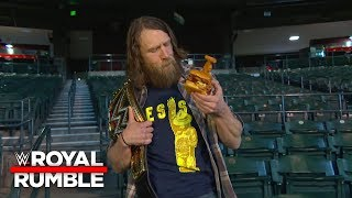 "The ""New"" Daniel Bryan is not down with the ""Royal Rumble Burger"": Royal Rumble 2019 Kickoff"
