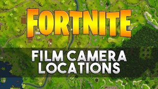 Dance in Front of Different Film Cameras - Fortnite Week 2 Challenge