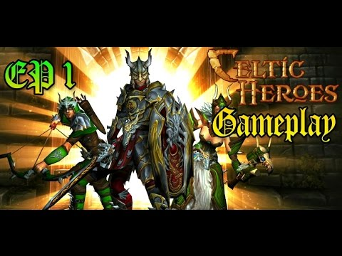 [Gratis] - 3D MMO Celtic Heroes - Gameplay #1