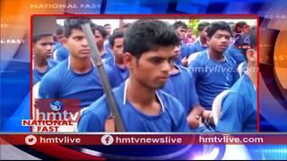 60 Naxals Surrender In Chhattisgarh | National Fast  | hmtv
