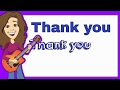 Graduation Song Lyrics to Thank You by Patty Shukla | Childrens Music for Preschoolers