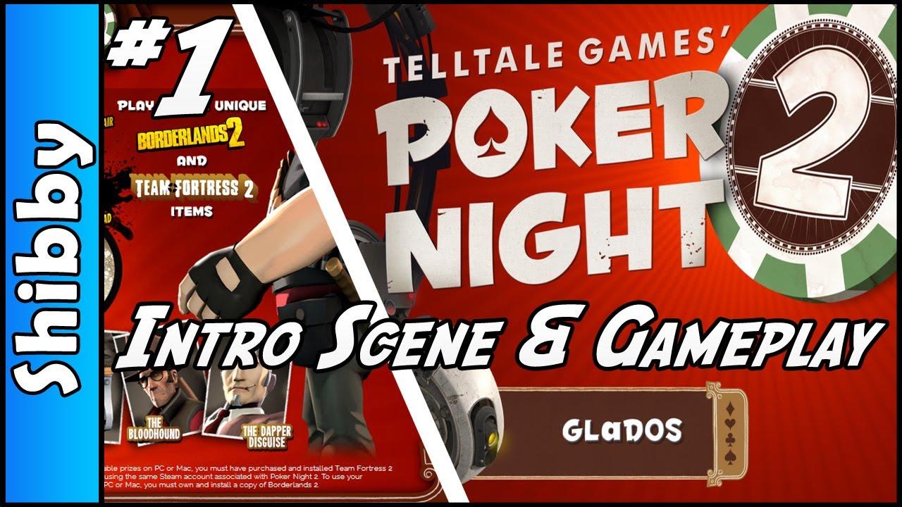 Poker Night 2 Intro Scene