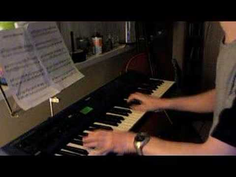 Back to the future piano theme
