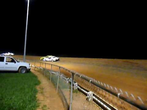 Natural Bridge Speedway Pure Stock Wreck June 20th Video