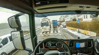POV Driving Scania S520 - Convoy with my colleague!