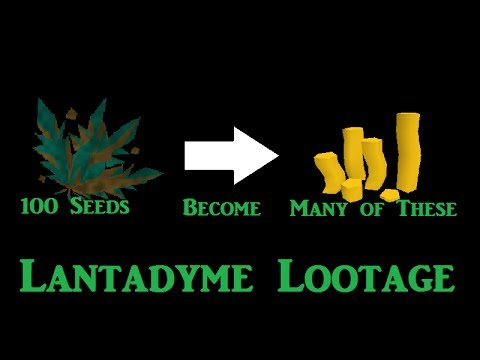 100 Lantadyme Seeds Loot – Easy Way to make Bank [Runescape 2014]