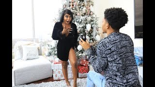 He Proposed Again... VLOGMAS 2019 INTRO (Behind the Scenes!!) | VLOGMAS DAY 2