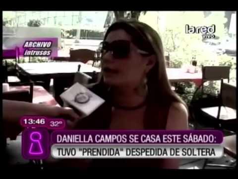 Daniella Campos se casa este sábado y tuvo una