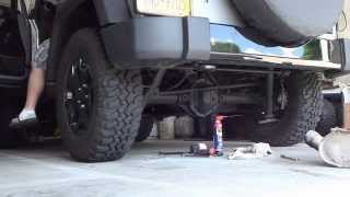 2014 Jeep JK- Dynomax Axle Back Exhaust