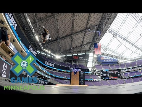 Italo Penarrubia qualifies first in Skateboard Big Air | X Games Minneapolis 2017