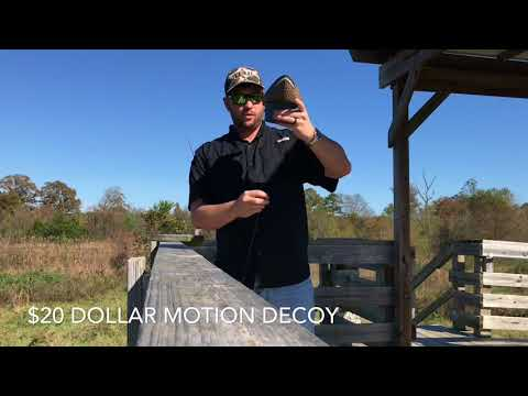 20 Dollar Motion Duck Decoy