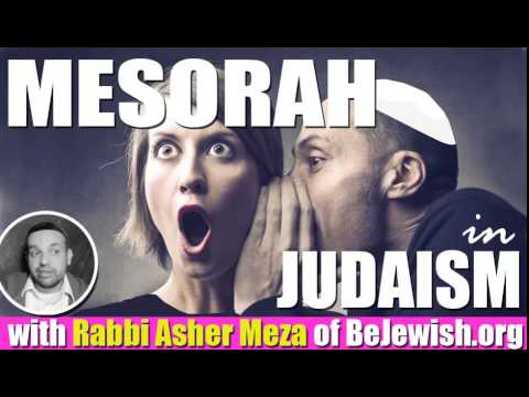 Mesorah in Judaism