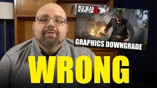 ReviewTechUSA is WRONG about Red Dead Redemption 2's 'Downgrade'