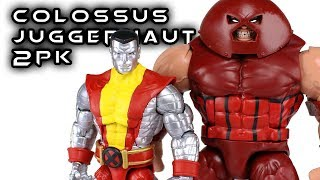 Marvel Legends COLOSSUS & JUGGERNAUT 2-Pack 80 Years Action Figure Set Review