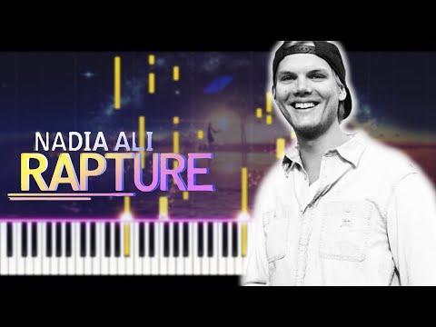 Nadia Ali - Rapture Avicii Remix Piano Cover + [MIDI]