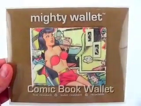 Comic Book Mighty Wallet