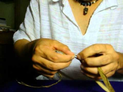 Natural Cordage From Field