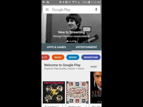 New Google Play Store Redesign