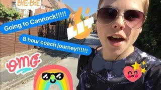 On The Coach For 8 Hours!! (Travel Vlog)