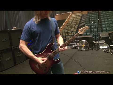 Steve Morse demos his Ernie Ball Music Man Y2D