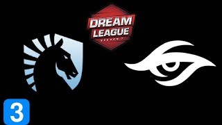 Liquid vs Secret Game 3  DreamLeague season 8 Highlights Dota 2