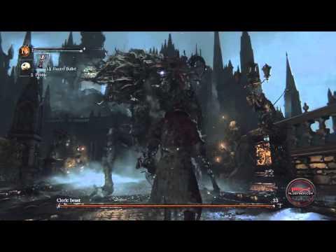 Поиграл в Bloodborne - идейный наследник Dark Souls и Demon's Souls от Хидетаки Миядзаки