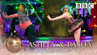 Ashley Roberts and Pasha Kovalev Charleston to 'Witch Doctor' by Don Lang - BBC Strictly 2018