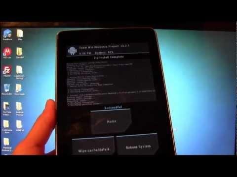 How to Install Paranoid Android Rom, Nexus 7!