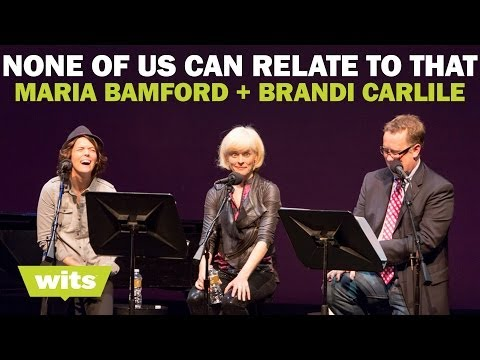Maria Bamford and Brandi Carlile - 'None of Us Can Relate to That' - Wits Game Show
