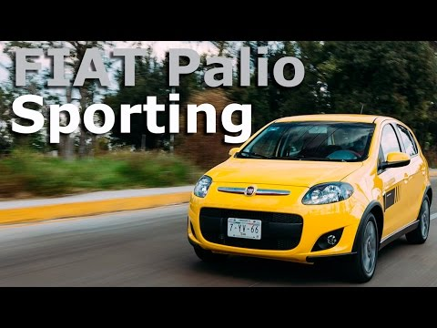 FIAT Palio Sporting 2016 a prueba