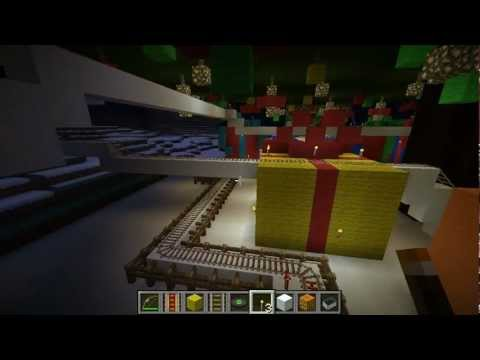 Minecraft Dad [E83] Christmas Roller Coaster Ride!