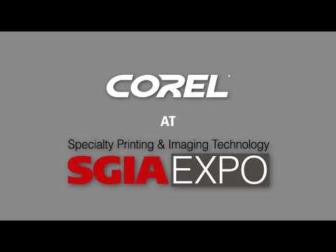 Corel at SGIA   2013