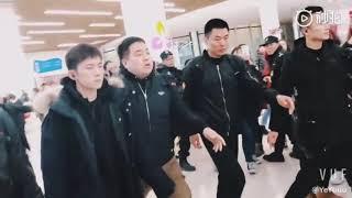 【TFBOYS-易烊千玺】Jackson Yee 大冰小将录制路透