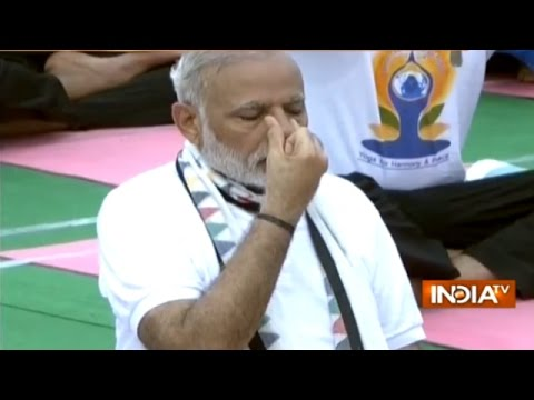 International Yoga Day: PM Modi, BJP Top Leaders Perform Yoga