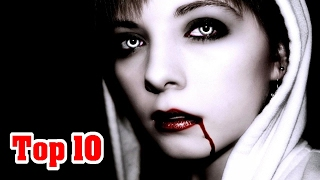 Top 10 FACTS About VAMPIRES