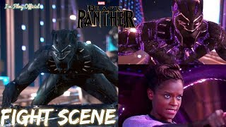 Black Panther - Kinetic Energy Scene - Show Off Clip Ft. Shuri - 2018